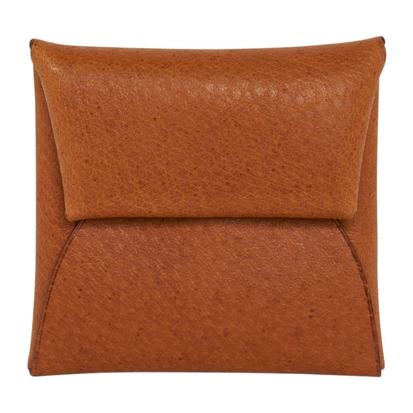 Hermes Bastia Change Purse Peau Porc Leather New w/ Box