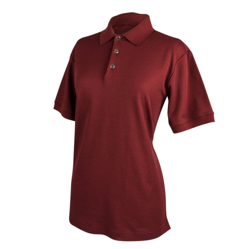 Hermes Men's Polo Style Rouge H w/ Navy Edging Short Sleeve XL - mightychic