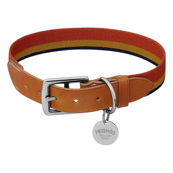 Hermes Rocabar Dog Collar Small Model