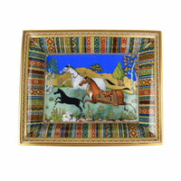 Hermes Change Tray Cheval d'Orient Porcelain New - mightychic