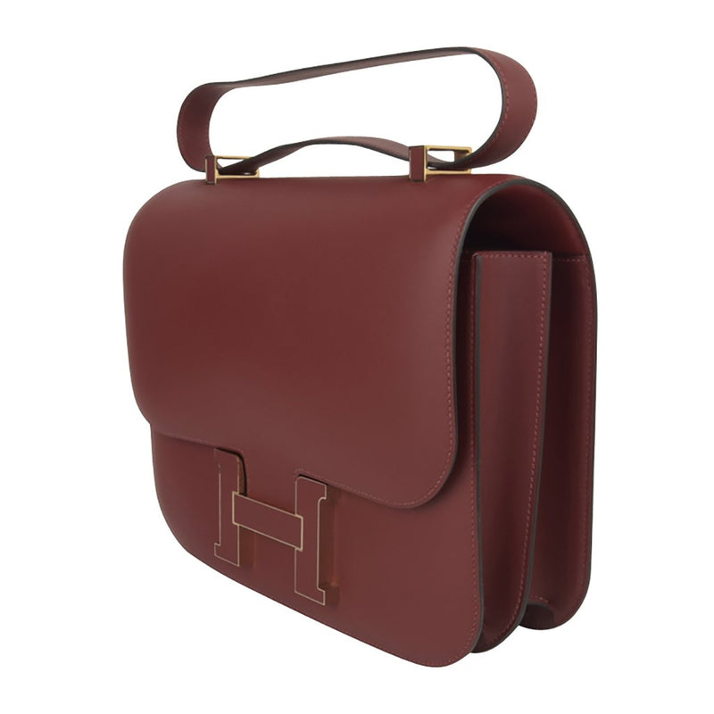 Hermes Constance Cartable Bag Limited Edition Rouge H Sombrero