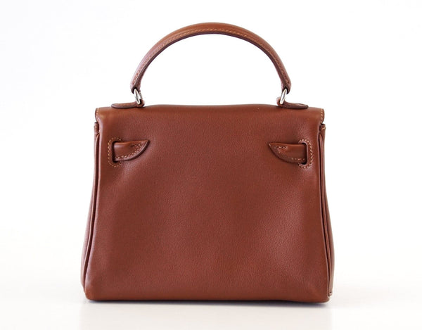 c7230333d5ed ... Hermes Kelly Doll Quelle Idole Rare Limited Edition Noisette Gulliver  Leather - mightychic ...