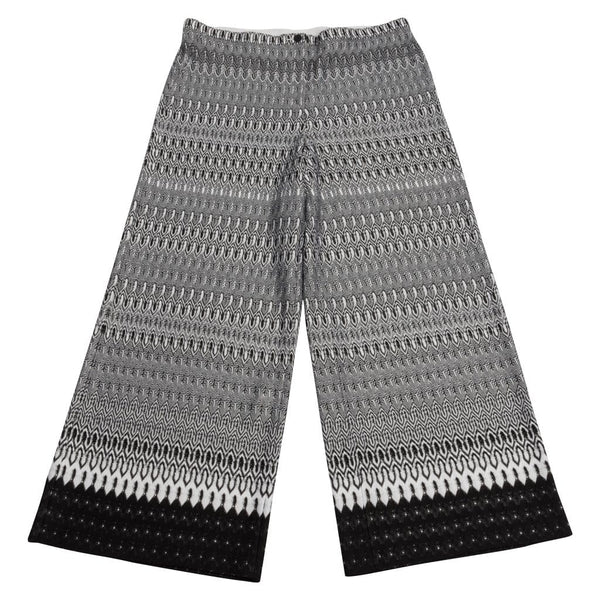 Missoni Pant Black / White Knit Tab Waist