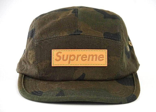Louis Vuitton Men's Hat Supreme X Limited Edition 5 Panels Camouflage Cap
