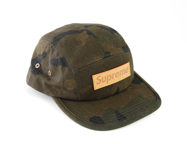 ... Louis Vuitton Men s Hat Supreme X Limited Edition 5 Panels Camouflage  Cap - mightychic ... 98fd81d68bb6