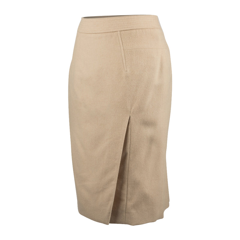Tom Ford Skirt Camel Hair Pencil Subtle Details  40 / 6 nwt - mightychic