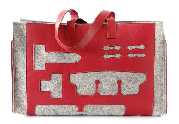 Hermes Petit h GM Bag Skeleton Tote Very Limited Edition - mightychic