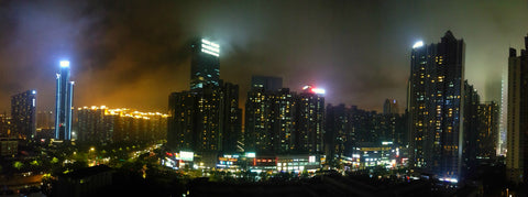 Guangzhou, 广州, China, Guangzhou city lights