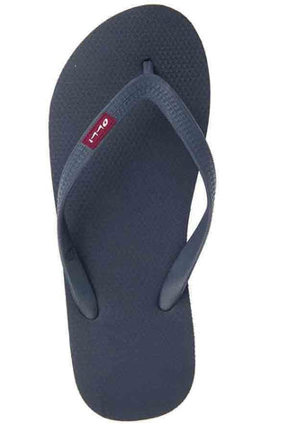 Olli Fair Trade Natural Rubber Flip-Flops midnight-blue