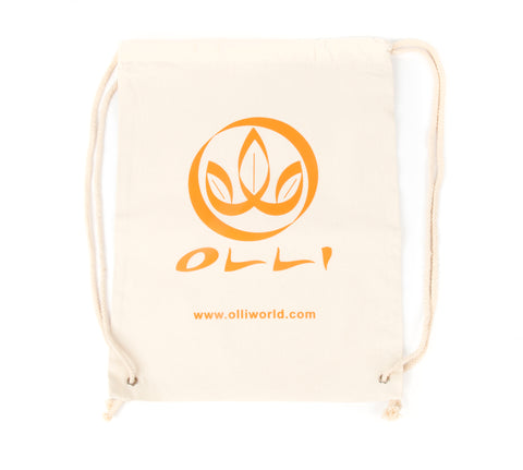 100% Organic Cotton Drawstring Bag
