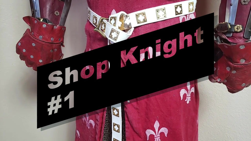 Shop Knight Episode #1 Redux How to Make a Knights Belt