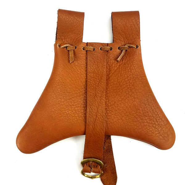 14th Century Medieval Leather Belt Pouch (small)