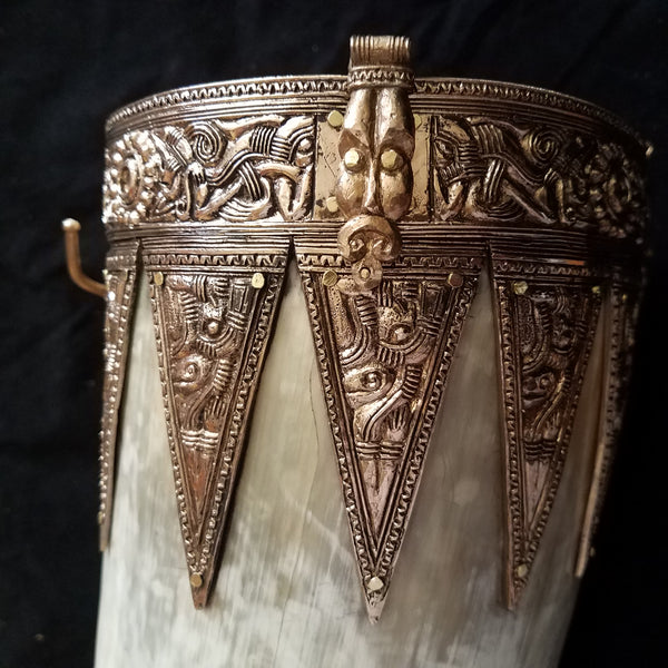Anglo Saxon Taplow Drinking Horn, Horn 02-19 | Boots by Bohemond