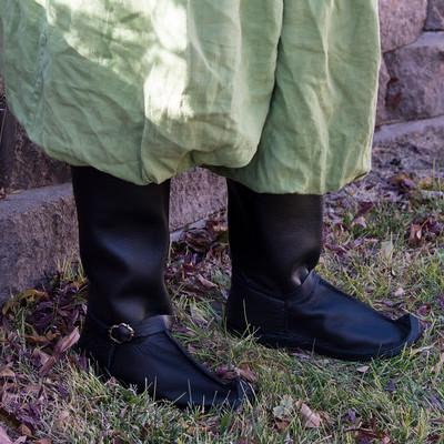 Persian Boots - Boot curl Fencing Boot Fighting SCA Boot hook toed Middle Eastern Boot