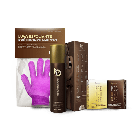 #1 Brazilian Best Seller Spray Tan + FREE SOAPS + FREE Exfoliate Gloves