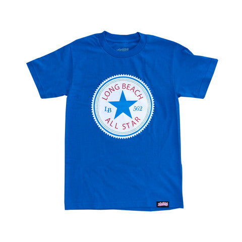 Long Beach All Star Men's Royal T-Shirt