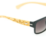 Long Beach Spiderweb Bamboo Sunglasses