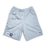 LB Champion Men's Light Grey Mesh Shorts w/ Pockets