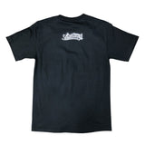 Cursive LB Drip Men's Black T-Shirt