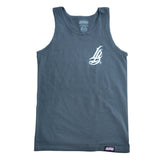 Long Beach Veins Men's Charcoal Tank Top