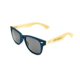 Wayfarer Long Beach Blue Wooden Sunglasses