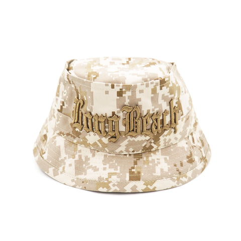 Old English Long Beach Desert Camouflage Bucket Hat