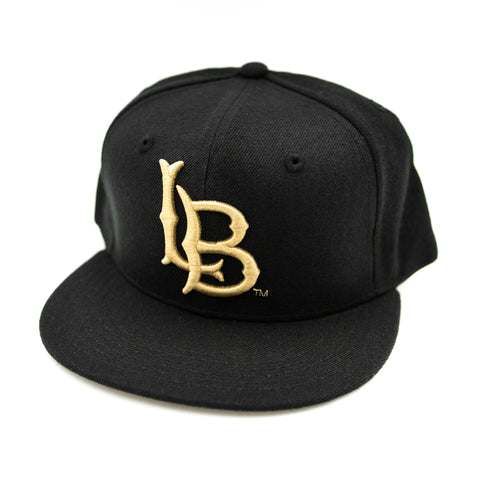 CSULB Black/Tan Snapback
