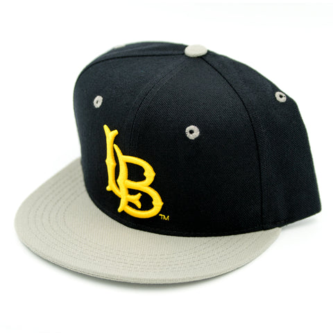 CSULB Black/Grey/Gold Snapback