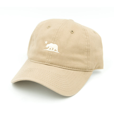 Cali Bear Tan Dad Hat
