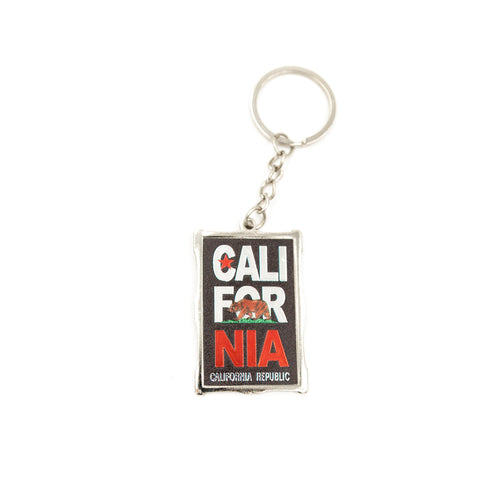 California Flag Keychain
