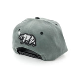 California Republic Grey/Black Snapback