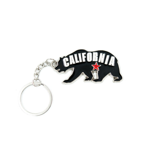 Black Bear California Keychain