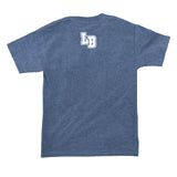 Collegiate Long Beach Men's Charcoal Heather T-Shirt