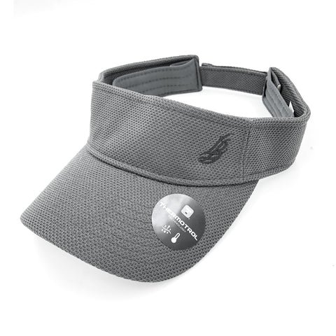 Cursive LB Charcoal Grey Thermotrol Visor