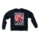 Defend 2.0 Men's Black Crewneck Sweater