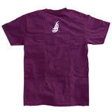 LBC On The Map Men's Burgundy T-Shirt