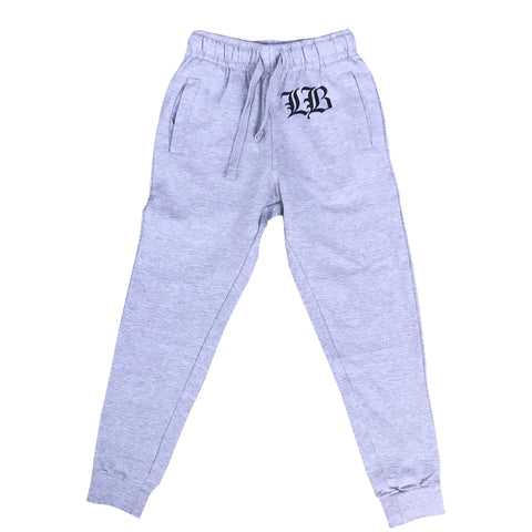 Old English Men's Athletic Heather Jogger Sweat Pants