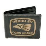Hecho En Long Beach Leather Wallet