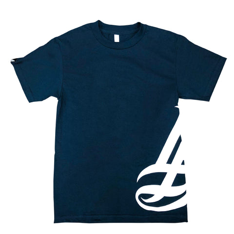 Hipster Men's Navy T-Shirt