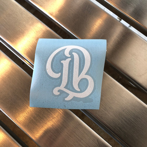 "4"" Legend LB Sticker"