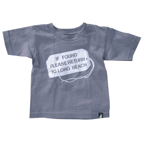 If Found Charcoal Toddler T-Shirt