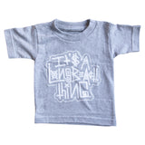 It's A Long Beach Thing Toddler Athletic Heather T-Shirt