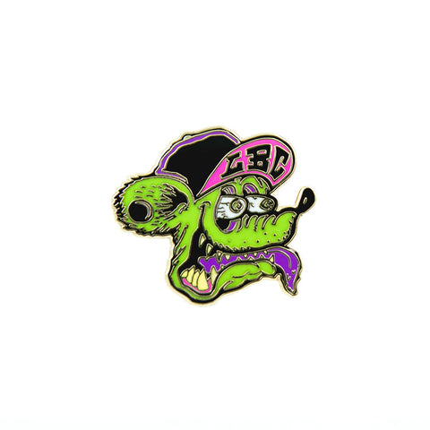 Long Beach Rat Lapel Pin