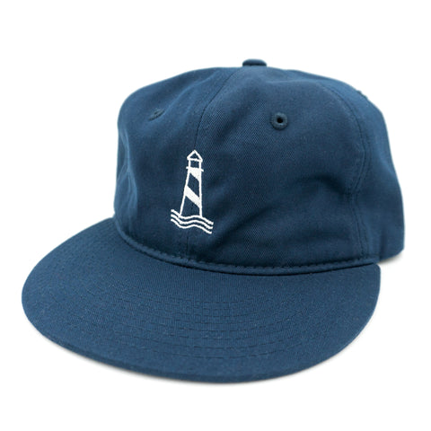 Lighthouse Navy Unstructured Snapback
