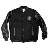 Legend LB Black Men's Varsity Jacket
