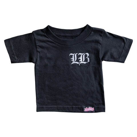 Old English LB Toddler Black T-Shirt