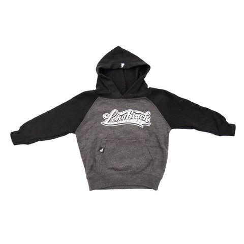 OG Logo Toddler Black/Grey Pullover Hoodies
