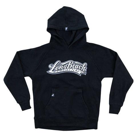 OG Logo Youth Black Pullover Hoodies