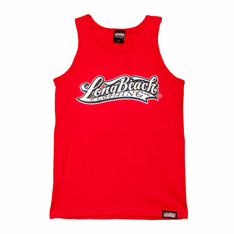 OG Logo Men's Red Tank Top