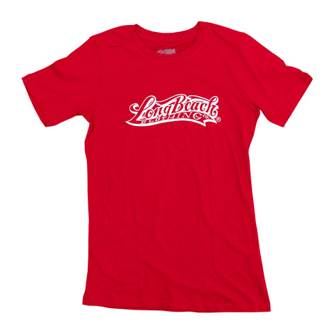 OG Logo Women's Red T-Shirt